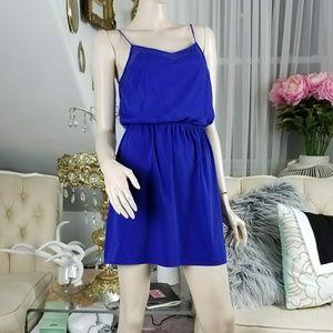 Express Royal blue  strap dress
